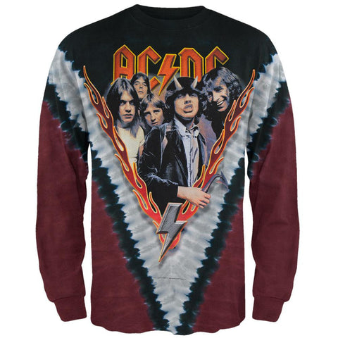 AC/DC - Highway To Hell All-Over Long Sleeve T-Shirt