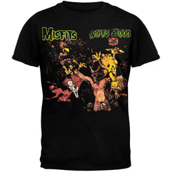 Misfits - Wolfs Blood Graphic Adult T-Shirt