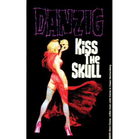 Danzig - Kiss The Skull Decal