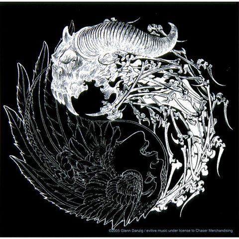 Danzig - Yin Yang Black and White Decal