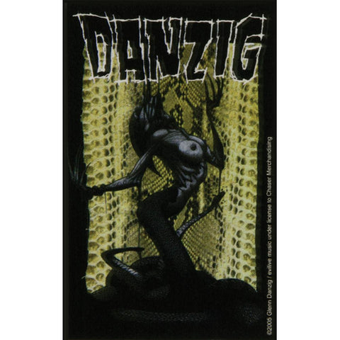 Danzig - Snake Lady Decal