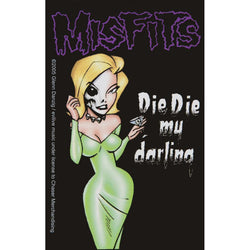 Misfits - Die Die My Darling Small Portrait Decal