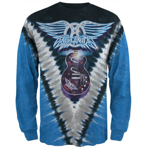 Aerosmith - Guitar Tie Dye Long Sleeve