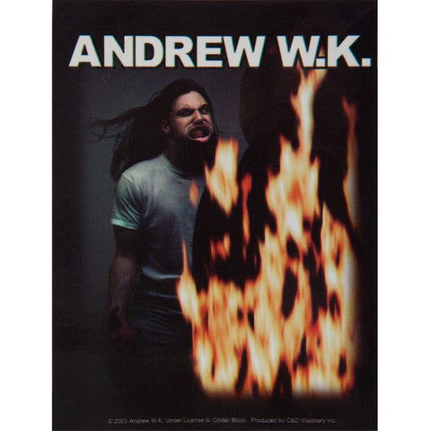 Andrew W.K. - Fire Eyes Decal