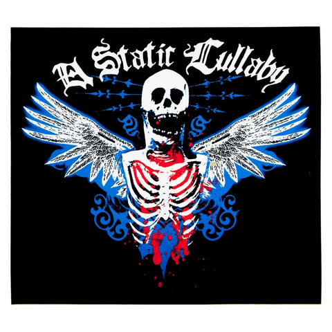 A Static Lullaby - Metal Skeleton Decal