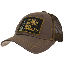 Bob Marley - Rebel Music Adjustable Trucker Cap