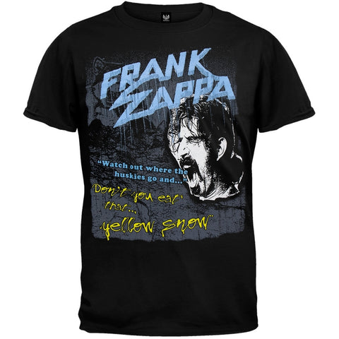 Frank Zappa - Yellow Snow T-Shirt