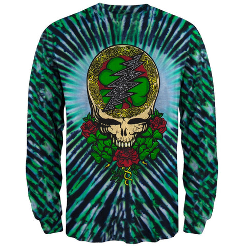 Grateful Dead - Shamrock SYF Tie Dye Long Sleeve T-Shirt