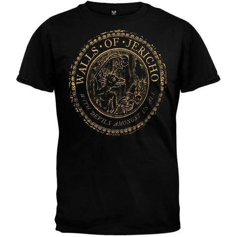 Walls Of Jericho - Devil Seal T-Shirt