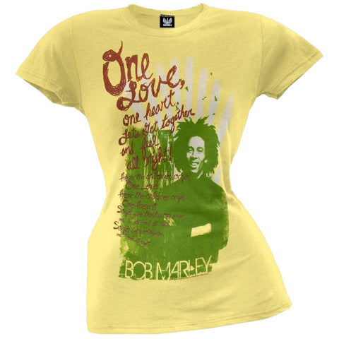 Bob Marley - One Heart Juniors T-Shirt