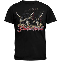 3 Inches Of Blood - We Ride T-Shirt