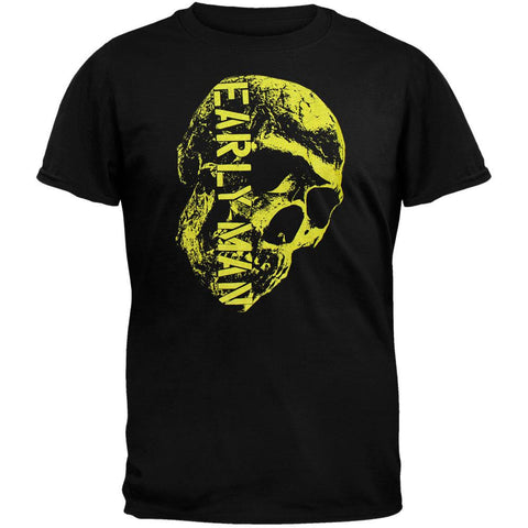 Early Man Skull T-Shirt