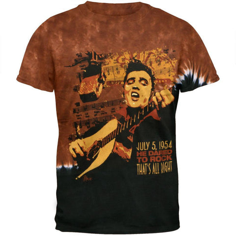 Elvis Presley - Dared To Rock Tie Dye T-Shirt
