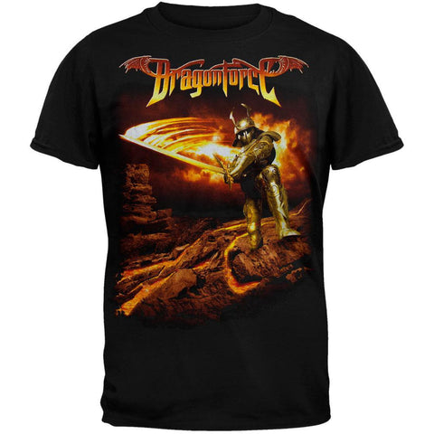 DragonForce - Flames Armor T-Shirt