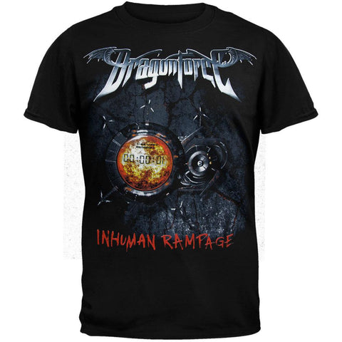 DragonForce - Inhuman 07 Tour T-Shirt