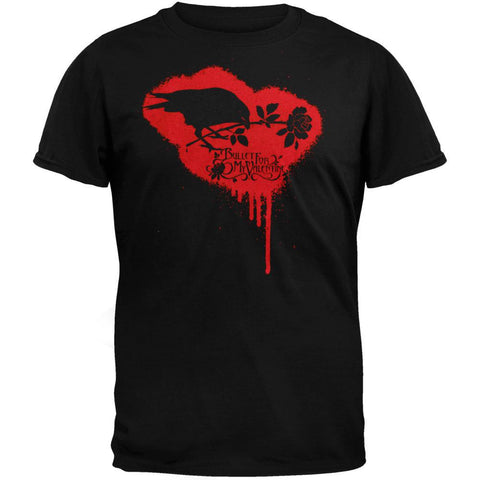 Bullet For My Valentine - Crow Logo Adult T-Shirt