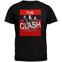 The Clash - Red Block T-Shirt