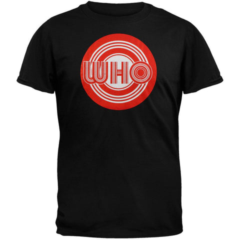 Who - Red & White Target T-Shirt