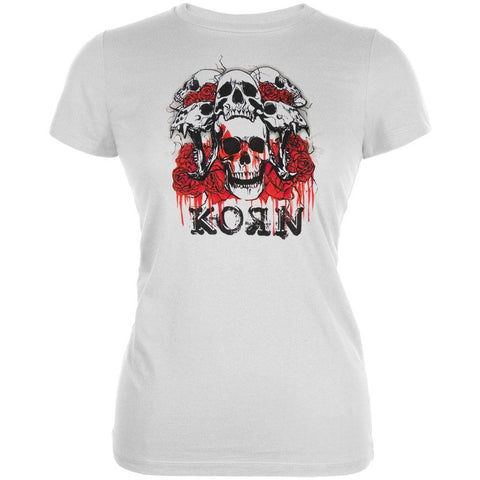 Korn - Red Roses Juniors T-Shirt