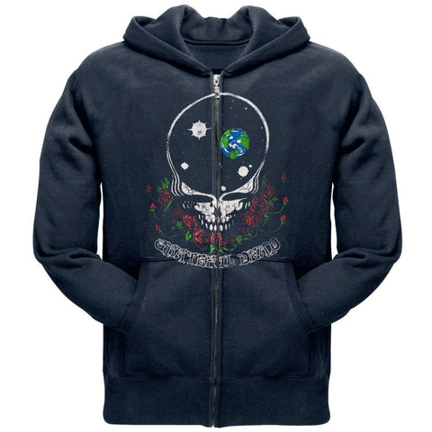 Grateful Dead - Space Your Face Zip Hoodie