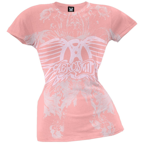 Aerosmith - Young Lust Juniors T-Shirt