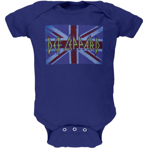 Def Leppard - Lil Union Jack Baby One Piece