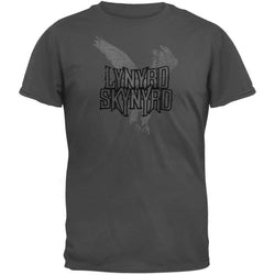 Lynyrd Skynyrd - Flocked Logo Soft T-Shirt