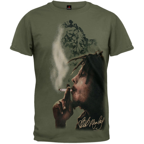 Bob Marley - Dark Smoke Side T-Shirt