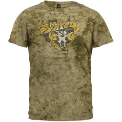 ZZ Top - Texas Trio Tie Dye T-Shirt