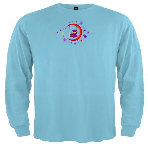 Grateful Dead - Moon Swing Blue Toddler Long Sleeve T-Shirt