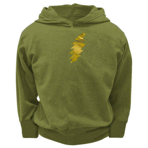 Grateful Dead - Foil Bolt Toddler Hooded Sweatshirt - Olive