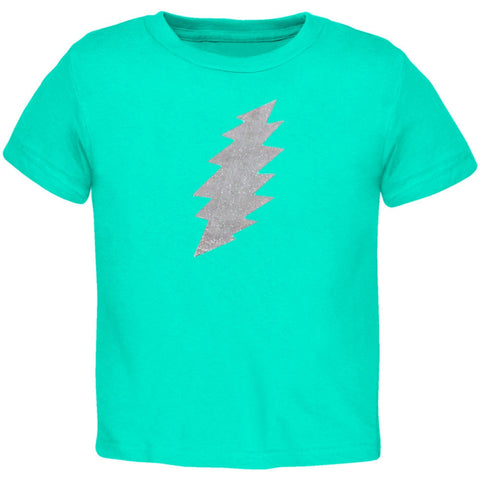 Grateful Dead - Foil Bolt Mint Toddler T-Shirt
