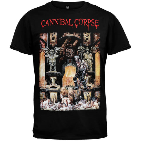Cannibal Corpse - Live Cannibalism Black T-Shirt