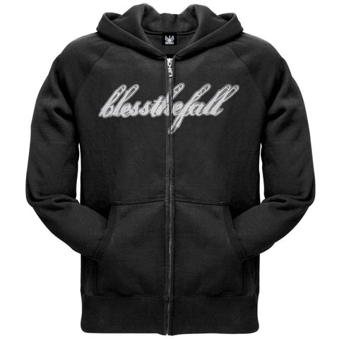 Bless The Fall - Logo Black Zip Hoodie