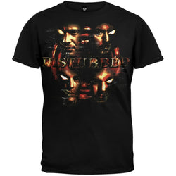 Disturbed - Four Faces T-Shirt