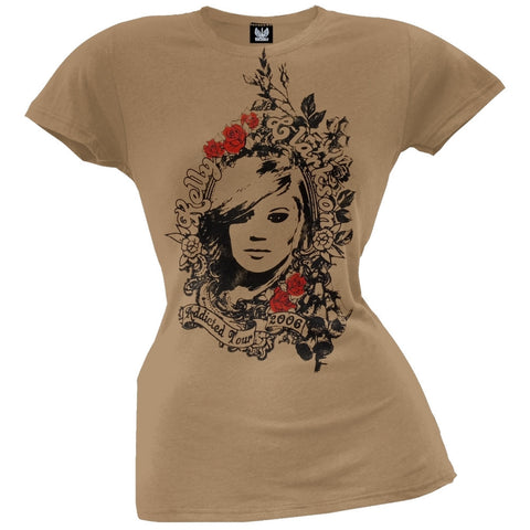 Kelly Clarkson - Roses Juniors T-Shirt