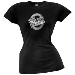 ZZ Top - Silver Logo Juniors T-Shirt