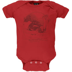ZZ Top - Lil' Roadstar Red Baby One Piece