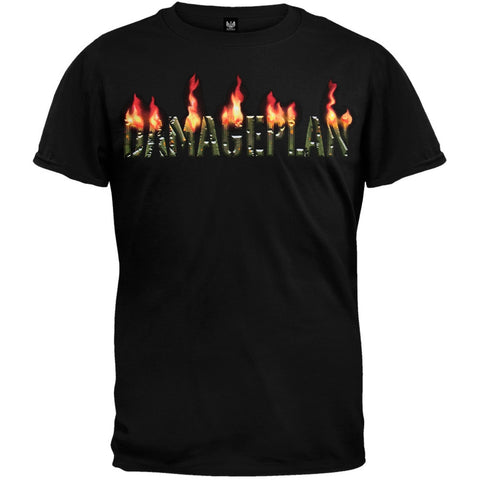 Damageplan - Burning Logo T-Shirt