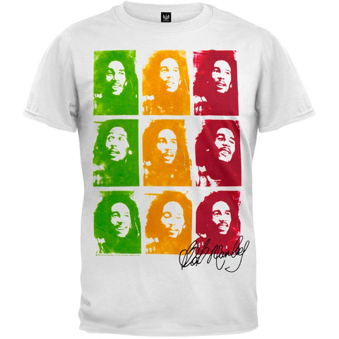 Bob Marley - Faces T-Shirt