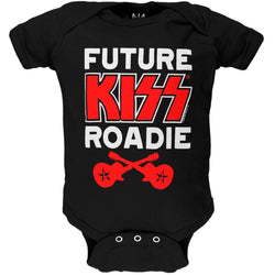 Kiss - Future Roadie Baby One Piece