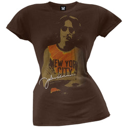 John Lennon - NY Photo Juniors T-Shirt