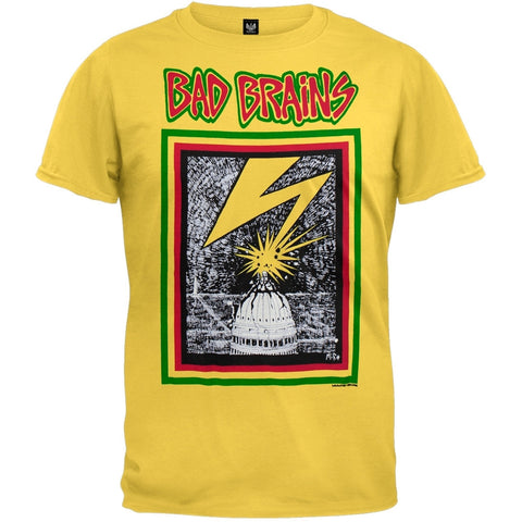 Bad Brains - Capitol Yellow T-Shirt