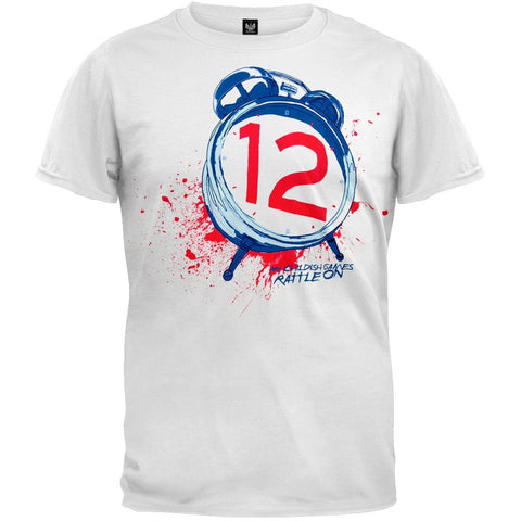 The Number Twelve Looks Like You - Clock T-Shirt