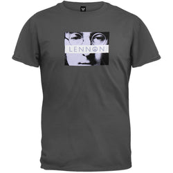 John Lennon - Yes Grey Short Sleeve T-Shirt