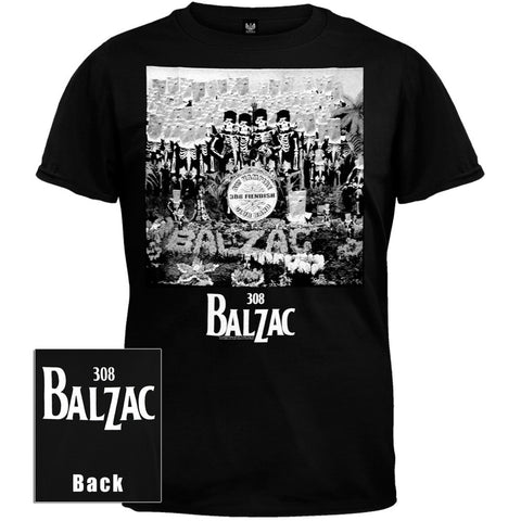 Balzac - Fiendish Club Band T-Shirt