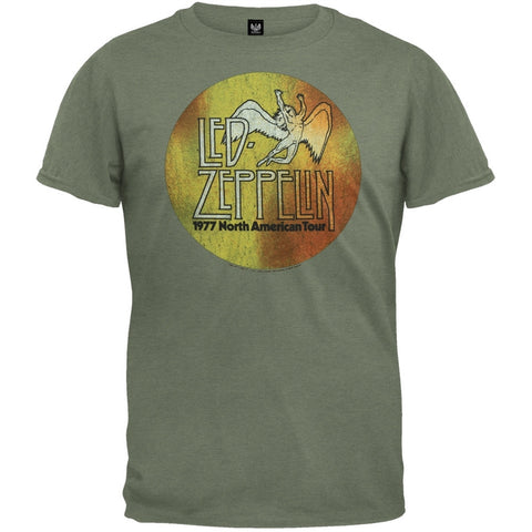 Led Zeppelin - US 77 Logo Soft T-Shirt