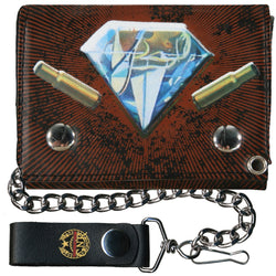 Guns N Roses - Diamond Grenade Chain Wallet