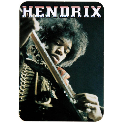 Jimi Hendrix - On Guitar Decal