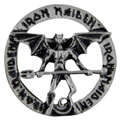 Iron Maiden - Devil Pewter Pin